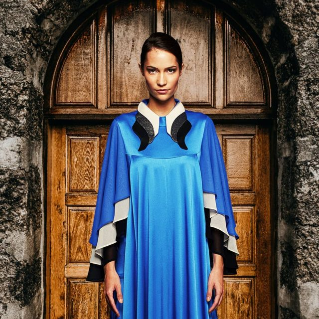 "We wish you Happy New Year!✨""Every door is another passage, another boundary we have to go beyond."" R.  #happynewyear #newyear #fashionphotography #fashionista #fashioncampaign #fashiondesigner #fashionmodel #fashionstyle #fashionmood #bluedress #luxuryfashion #hautecouture #handmadedress"